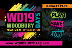 Woodbury Days Button