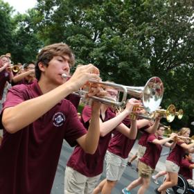 Parade-trumpet