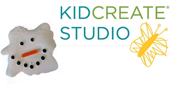 Melted Snowman Slime with Kidcreate Studio
