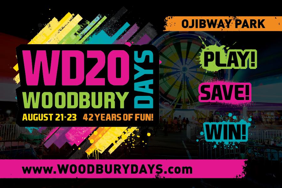 Woodbury Days Button